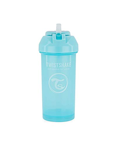 Twistshake 78589 - Vaso para pajitas, color azul