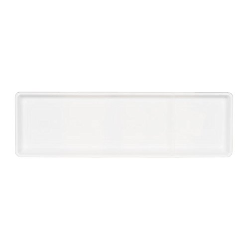Novelty Countryside Flower Box Tray, White, 24-Inch
