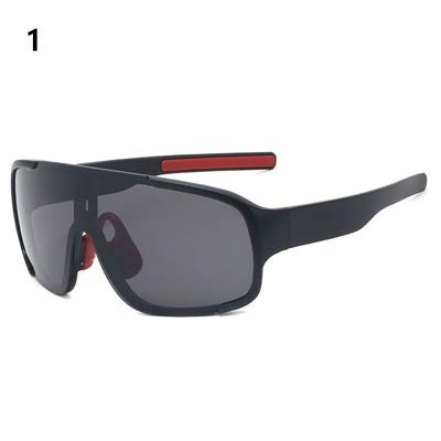 LGHB 2019 Cycling Glasses Mountain Bicycle Road Bike Sport Sunglasses Mens Cycling Eyewear Gafas Ciclismo Oculos Carretera Occhiali (Color : 1)