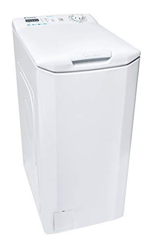 Candy Smart CST 06LE 1-11 Lavatrice a Carica dall Alto, 6 Kg, 1000 Giri, Connettività NFC, Libera Installazione, 41x60x86cm, Bianco, Classe E