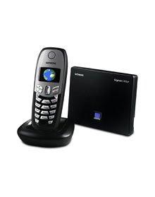 Siemens Gigaset C450 IP DECT schnurloses Telefon für Festnetz- und Internettelefonie