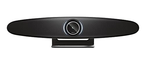 Trust Iris 4K Videokonferenz Kamera, All-in-One Konferenzkamera mit Clearview und ClearSound Technologie für Konferenzräume/Videokonferenzen