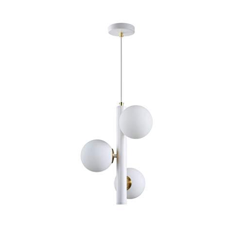 TB kroonluchter, LED, 5 W, molecular, kroonluchter, plafondlamp, glazen bol, modern, glas, trap, slaapkamer, restaurant, molecular, kroonluchter