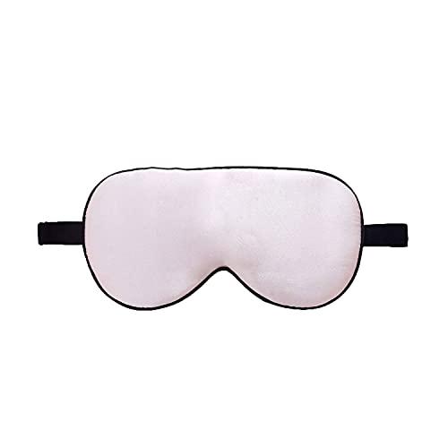 ZIMASILK 100{387669664fec196160821d7cf013ddcd49037c029dfc8d0f6f67e7caa2f8e028} Seide Schlafbrille leicht - verstellbare Augenbinde für Reise und Zuhause Schlafen - Reine Maulbeerseide Atmungsaktiv Augenmaske mit Samtbeutel (Rosa)