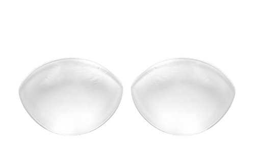 Sodacoda Damen - 260g/Paar - Große Silikon Brust Einlagen - Transparent