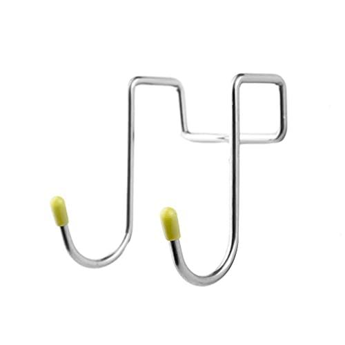 Ganchos dobles en forma de S ganchos de metal para colgar utensilios de cocina ollas utensilios de cocina, bolsas de ropa, toallas, plantas, ganchos de cocina