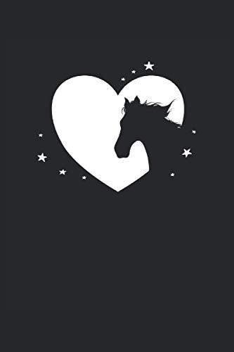 Caballo Corazón Caballo Amor: Cuaderno de notas | Rayas | 6