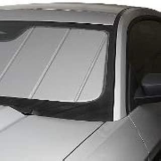 Covercraft UVS100 Windshield Custom Sunscreen: 2014-19 Fits Jeep Grand Cherokee (W/Mirror Mounted SENSORS) (Silver) (UV11313SV)
