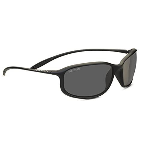 SERENGETI Sestriere Gafas de Sol, Unisex Adulto, Matte Black, Small/Medium