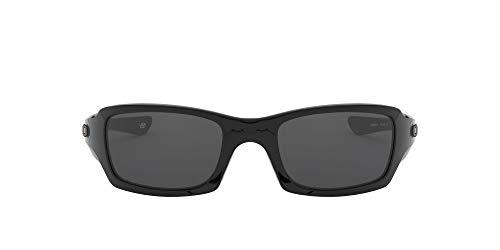Oakley Sonnenbrille Fives Squared, OO9238, Schwarz (Polished Black/Grey (S3))