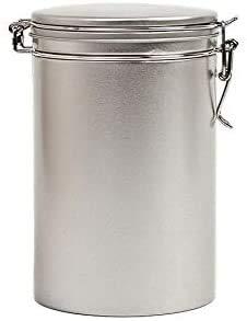 Perfekto24 Aufbewahrungs-Kaffeedose mit Bügelverschluss hält Kaffeebohnen/Pulver länger frisch - Vorratsdose aromadicht auch geeignet für Kaffeepads