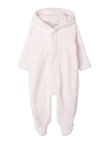 NAME IT Baby Mädchen Wuschel Overall nbnNONU (74/80, Barely Pink)