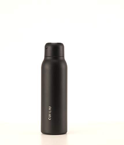Cui Liu Smart UV Self-Cleaning Water Bottle (Black)