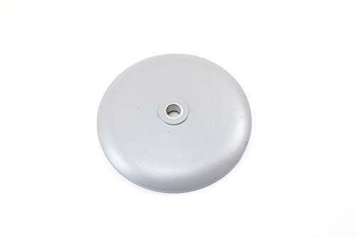 Alu Deckel Abdeckung Radnabe vorn Vorderradnabe Silber Pulverbeschichtet für Simson S50 S51 KR51
