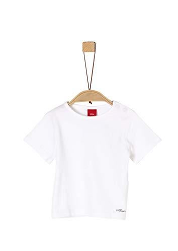 s.Oliver Junior Unisex Baby 405.11.899.12.130.1279232 Kleinkind T-Shirt-Satz, White, 74