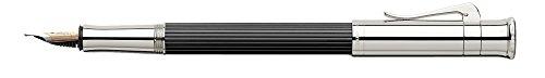 Graf von Faber-Castell, Füller, Classic, Ebenholz, Dunkelbraun | Füllfederhalter, Füllhalter, edel, hochwertig, Luxus, Schreibgeräte