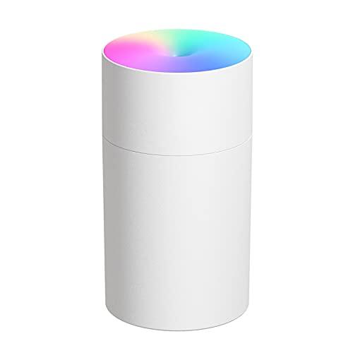 DISHUECO Humidificador USB humidificador coche colorido noche luz humidificador aire para oficina hogar habitación uso