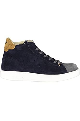 Diadora Heritage Game H Midcut Kidskin - Zapatillas altas para hombre, color azul