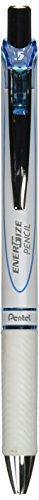 Pentel Mechanical Pencil, Energize, 0.5mm, Pearl White & Sky Blue (PL75-SW)