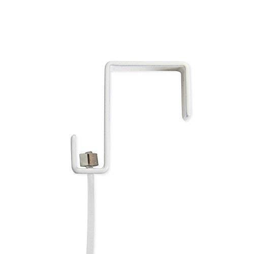 Ancre et câble transparent 25 mm pour galerie d'exposition Panneau d'écran, cloison murale Cintre d'exposition