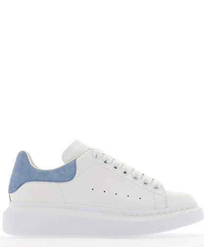 Alexander McQueen Luxury Fashion Damen 553770WHGP79048 Weiss Leder Sneakers | Jahreszeit Permanent