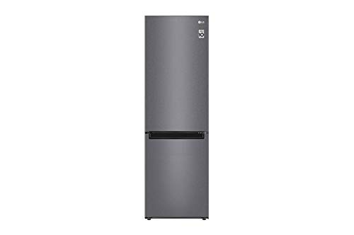 LG GBP61DSSFR Frigorifero Combinato Total No Frost con Congelatore, 341 L, 36 dB - Frigo con Freezer, Tecnologia FRESH Converter, Display LED Interno, Inox