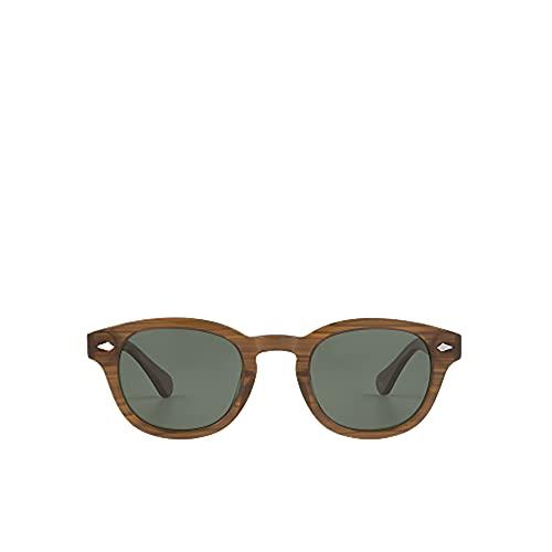 MO Gafas De Sol Polarizadas Sun Rx 285A A De Hombre. Gafas Cuadradas De Color Marrón