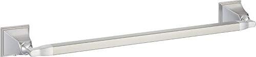 "Hardware House 220194 Monterey Bay Towel Bar, 18"", Satin Nickel"