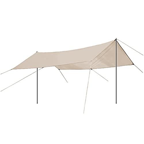 Amaca da Campeggio Tarp Grande campeggio all'aperto Tarp Impermeabile portatile portatile leggero...