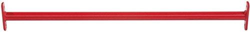Reckstange Metall rot 125 cm für den öffentlichen Bereich