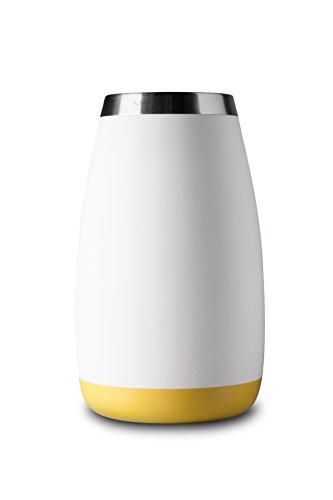 Mandahorn Aktiv-Flaschenkühler / Weinkühler Celsius Cream White Matt (Lemon Yellow)