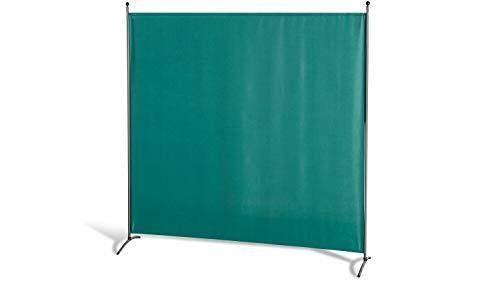 GRASEKAMP Qualität seit 1972 Stellwand 180 x 180 cm - Grün - Paravent Raumteiler Trennwand Sichtschutz