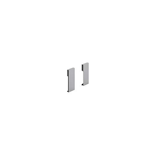 Fixation façade aluminium à l'anglaise hauteur 126 - Décor : Blanc - HETTICH