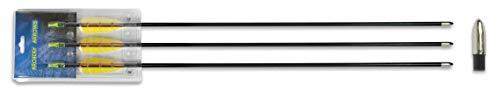 Hellbow Set 3 Flechas de Fibra 30