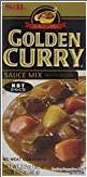 SampB Golden Curry Sauce Mix Hot 32 oz