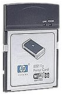 HP 802.11g Printer Card - Print Server - CompactFlash - 802.11b, 802.11g