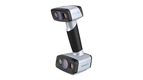 Scanner 3D professionale EinsCan HX   Scanner 3D portatile per stampante 3D   Tecnologia con precisione di 0,04 mm con luce ibrida: laser blu e LED