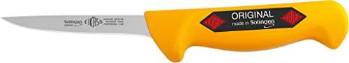 SOLINGEN EIKASO® Ausbeinmesser/Geflügelmesser/Polker 10cm, gerade, flexibel, für Profis und Privat