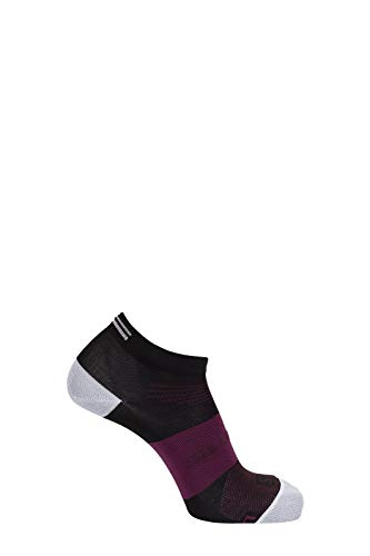 Salomon Standard Socks, black/mauve wine, M
