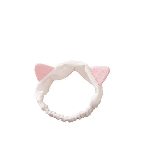FORLADY Yoga-Haarband mit Katzenohren süße Make-up Maske Maske Haarband weibliches Stirnband