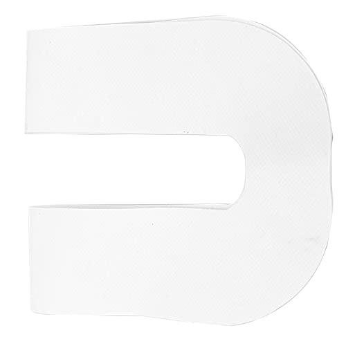 Shanrya Etiqueta engomada de la Caja de la Aleta, Etiqueta engomada Inflable de la Caja de la Aleta del PVC para la Pieza de Repuesto