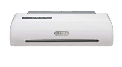 Scotch Brand PRO Thermal Laminator, 12.3-Inch, 1-Minute Warm-up, Fast Lamination, Never Jam Technology, 4-Roller Machine (TL1306)