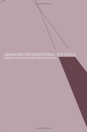 Managing International Schools