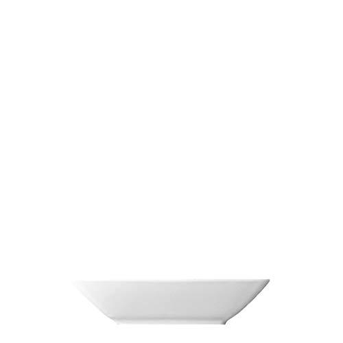 Thomas Loft 12072 Platte, Servierplatte, Quadratisch, Tief, Porzellan, Weiß, 22 x 22 x 5 cm