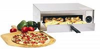 Wisco 412-8-NCT Closed Wire Pizza Oven, Silver