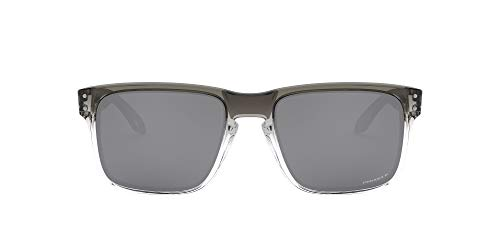 Oakley Men's OO9102 Holbrook Square Sunglasses, Dark Ink Fade/Prizm Black Polarized, 57 mm