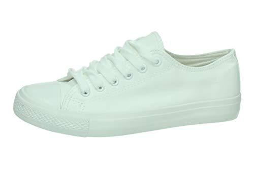ZAPATOP JZ3306 Zapatillas Blancas Mujer Zapatillas