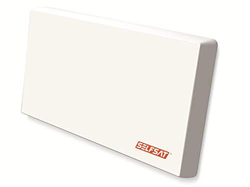 Selfsat H22D2 Flachantenne (mit austauschbaren Twin LNB)