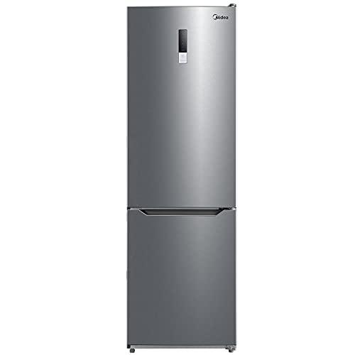 Midea KG-EIX 6.20 WT Kühl-/Gefrierkombination/ 188cm Höhe /59,5cm Breit/ 235 kWh/Jahr /224 L Kühlteil/ 86L Gefrierteil/ NoFrost / Digital Control / All Around Cooling
