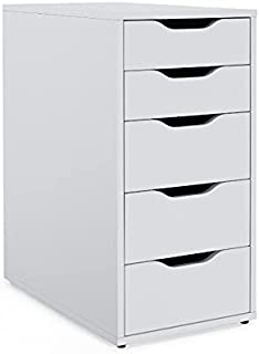 "IKEA Drawer Unit، 14 1/8 ""x 27 1/2""، سفید، الکس 101.928.24"